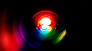 Rainbow (Wallpaper without Grid) by Hardii