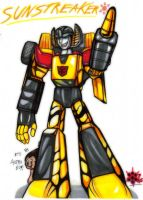Ink Sunstreaker by Rafeal