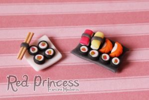 Sushi by theredprincess