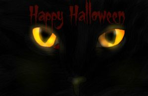 Happy Meow-a-ween! by VoyagetoDiscover2013