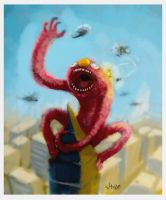 monster elmo by shoze