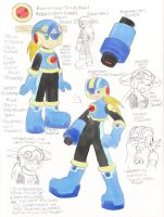 Final Reference: Rockman Jr. by SLiDER-chan