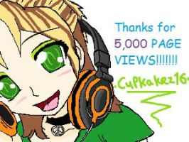 THANKS FOR 5000 by MiRandom21