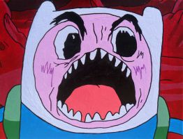 Finn's Scary Face by lifeinacemetery