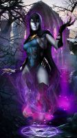 Raven Injustice Gods Among Us by JPGraphic