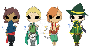 ( Male )Fantasy Adopts set 1 One left by ToxicDataGirl-88
