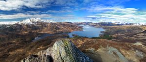 Ben Venue and Loch Katrine by crowthius