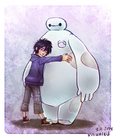 Big Hero 6 fanart by notya-chan