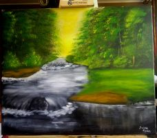 Landscape Acrylic Paints by DoktorekPL
