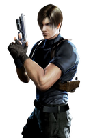 Leon Kennedy-RE Degeneration PNG by Isobel-Theroux