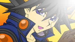 Yusei in Tag Force 4 1 by BlueYusei