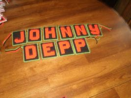 Johnny Depp Name by phillipfanning