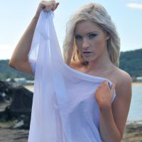 Kahli - white fabric 3 by wildplaces