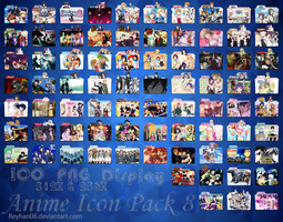 Anime Icon Pack 8 by Reyhan06