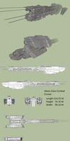 Alexis Class Combat Cruiser by MSgtHaas
