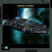 Interstellar Warship by Turedi