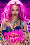 Sasha Banks The Boss by GFXWWE
