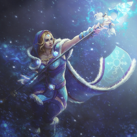 Crystal Maiden by rafdesigns