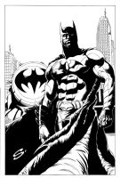 Batman backlit by stevescott