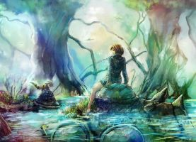 Nausicaa And Teto by annamcg