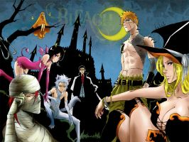 Bleach happy Halloween wallpaper by sexywoman1234