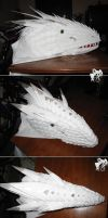 Costume - White Wyvern Head by R-Eventide