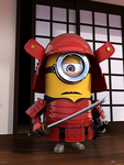 Minion Samurai Portfolio Mini by Luther2s