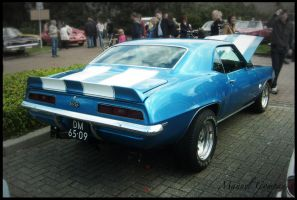 1969 Chevy  Camaro SS by compaan-art