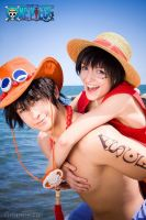 ONE PIECE - Brothers LOve by Hasadosh