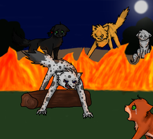 Brambleclaw's Not Here To Protect You .:Redo:. by Smokestar11