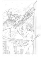 Fantastic Four pencils by JoelPoischen
