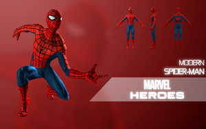 Marvel Heroes: Spider-Man (Modern) by LEMOnz07