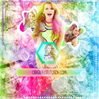 Explosion De Colores -Bella Thorne- by OriginalsTutos