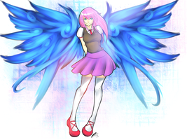 Comm : Wings by arcbuncle