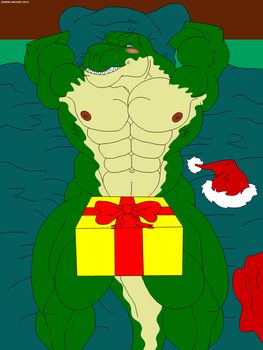 Thomas feels very hot for Christmas. (censored) by Maxime-Jeanne