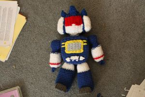 soundwave plushie by keyismykitty