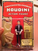 Houdini Action Figure. by Pie-thief