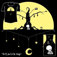 Woot Shirt - Afterlife Nap by fablefire