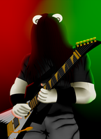 Urso Guitar-Playing by MostWanted06