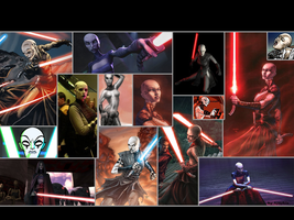 Asajj Ventress Wallpaper by Thimburd