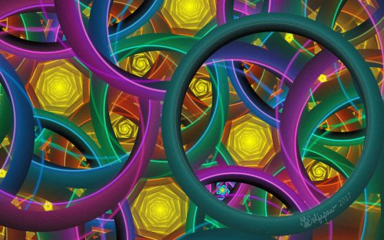 Rings and Spirals by wolfepaw