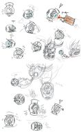 Wheatley sketch dump by Wolf-Shadow77
