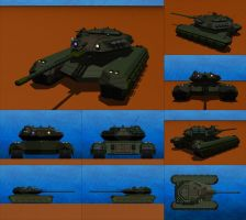 Diablo Mark IV Modular Battle Tank by Raven-Gold