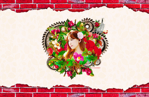 [WALLPAPER] TaeYeon In My Heart by CowsBaby