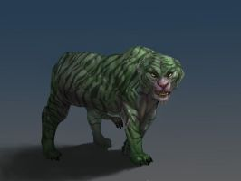 Tiger-like-creature by Mellon007