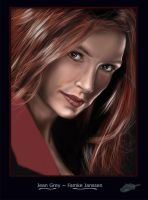 Jean Grey_Famke Janssen by The-Bluetip