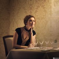 Waiting at the restaurant by fb101