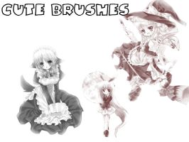 Cute Anime Brushes for Otaku by smallprince8