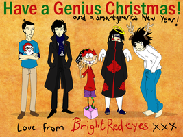Have a Genius Christmas! by BrightRedEyes