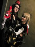 Bayonetta and Maria by DiroPetra